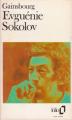 Couverture Evguénie Sokolov Editions Folio  1985
