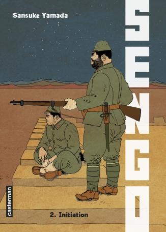 Couverture Sengo, tome 02 : Initiation