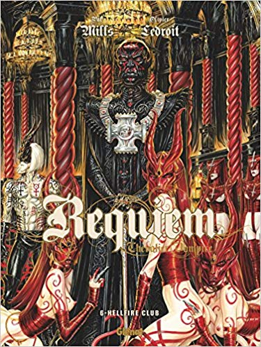 Couverture Requiem Chevalier Vampire, tome 06 : Hellfire Club