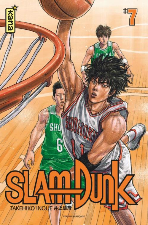 Couverture Slam Dunk, star édition, tome 7