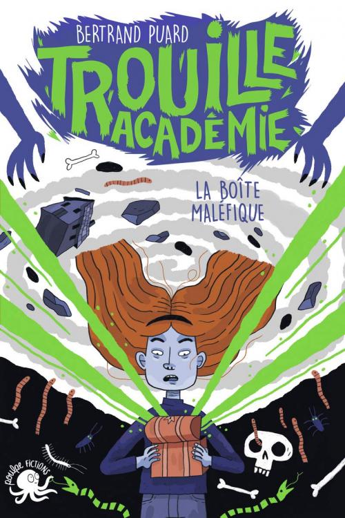Couverture Trouille académie, tome 2 : La boîte maléfique