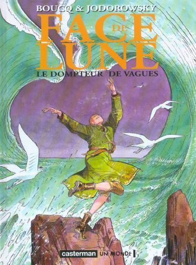 Couverture Face de Lune, tome 1 : Le dompteur de vague