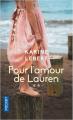 Couverture Les amants de l'été 44, tome 2 : Pour l'amour de Lauren Editions Pocket 2020