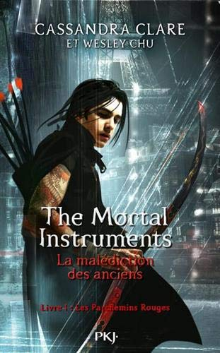 Couverture The mortal instruments : La malédiction des anciens, tome 1 : Les parchemins rouges