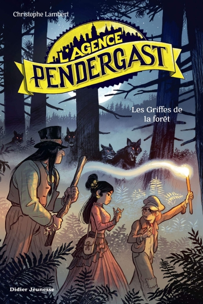Couverture L'agence Pendergast, tome 4 : Les griffes de la forêt
