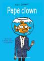 Couverture Papa clown Editions Flammarion (Castor - Benjamin) 2019