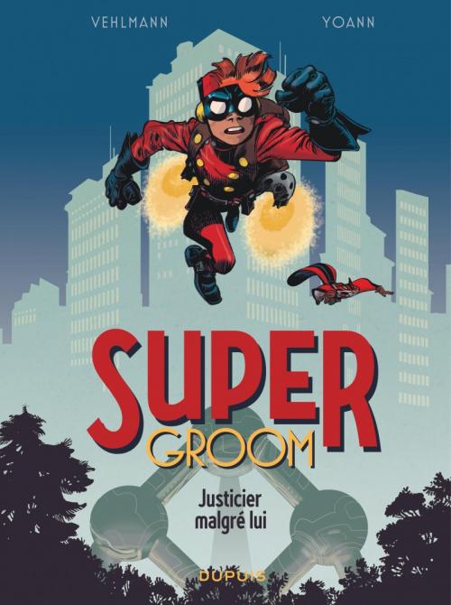Couverture Supergroom, tome 1 : Justicier malgré lui