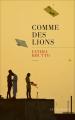 Couverture Comme des lions Editions Les Escales 2020