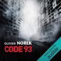 Couverture Code 93 Editions Audible studios 2016
