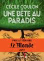 Couverture Une bête au paradis Editions Guy Saint-Jean 2020