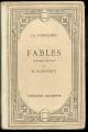 Couverture Fables Editions Hachette (Classiques) 1929