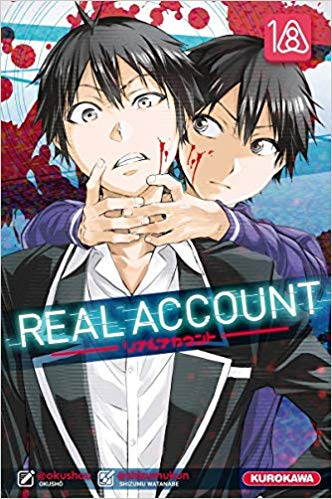 Couverture Real Account, tome 18