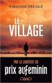Couverture Le village Editions Michel Lafon 2020