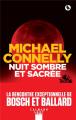Couverture Nuit sombre et sacrée Editions Calmann-Lévy (Noir) 2020