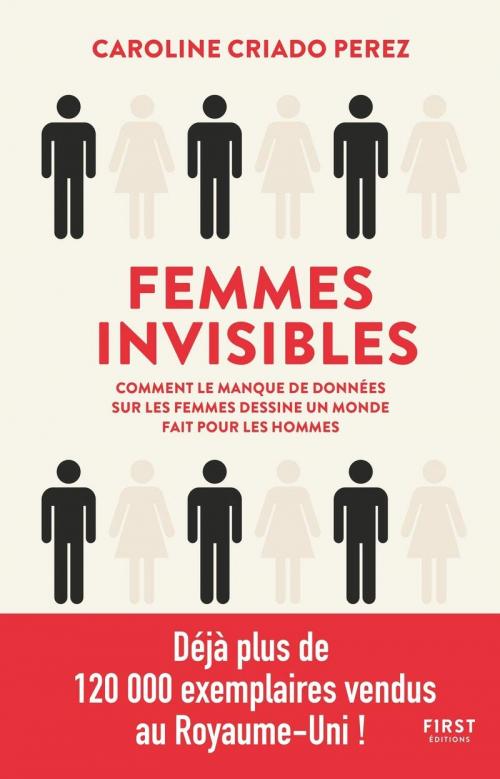 Couverture Femmes Invisibles : Comment le manque de données sur les femmes dessine un monde fait pour les hommes