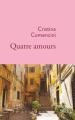 Couverture Quatre amours  Editions Stock (La Cosmopolite) 2020