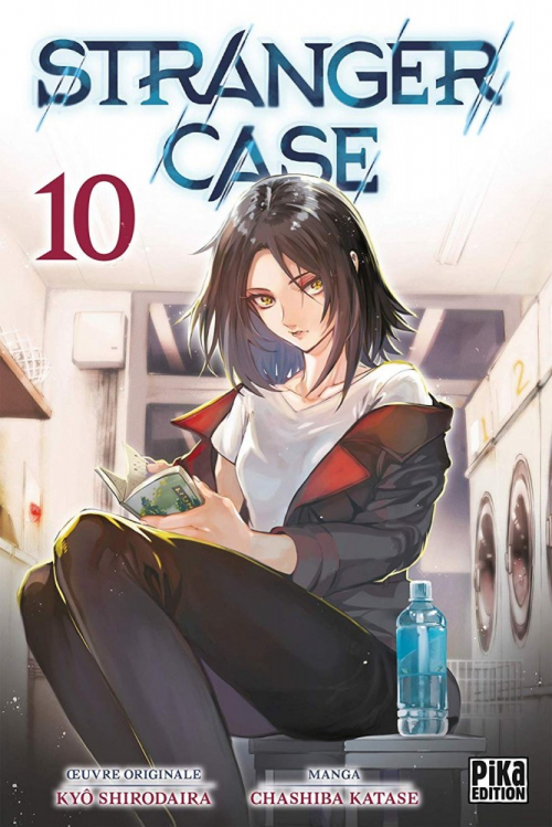 Couverture Stranger case, tome 10