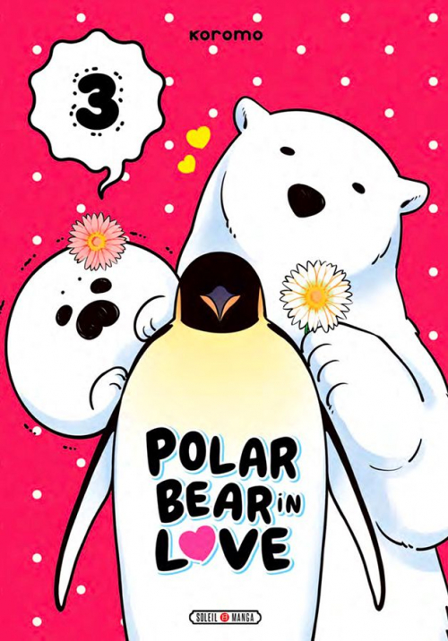 Couverture Polar Bear in love, tome 3