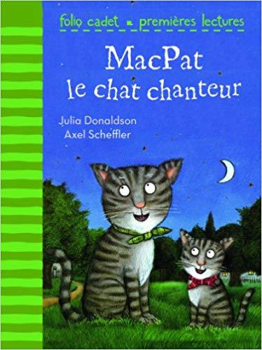 Couverture MacPat le chat chanteur