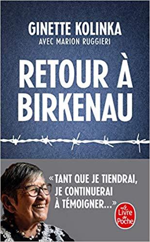 Couverture Retour à Birkenau