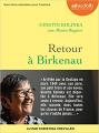 Couverture Retour à Birkenau Editions Audiolib 2020