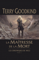 Couverture Les chroniques de Nicci, tome 1 : La maîtresse de la mort Editions France Loisirs (Fantasy) 2020