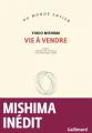 Couverture Vie à vendre Editions Gallimard  (Du monde entier) 2020