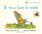 Couverture Je veux faire la sieste Editions Gallimard  2017