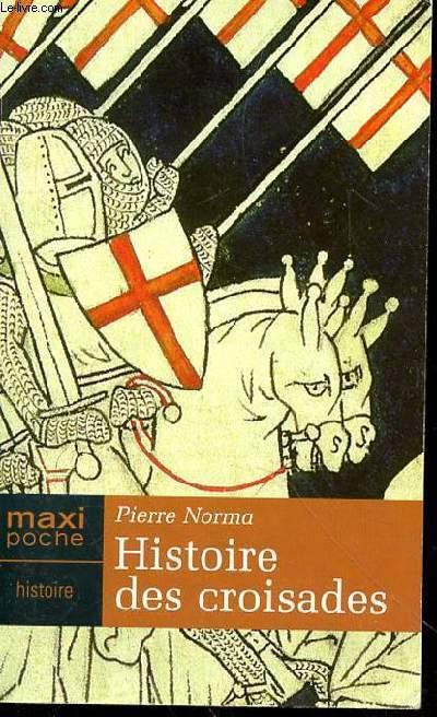 Couverture Histoire des croisades