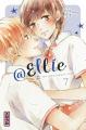 Couverture @Ellie : #je n'ai pas de petit ami, tome 7 Editions Kana (Shôjo) 2020