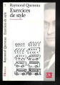 Couverture Exercices de style Editions Folio  (Plus) 1995
