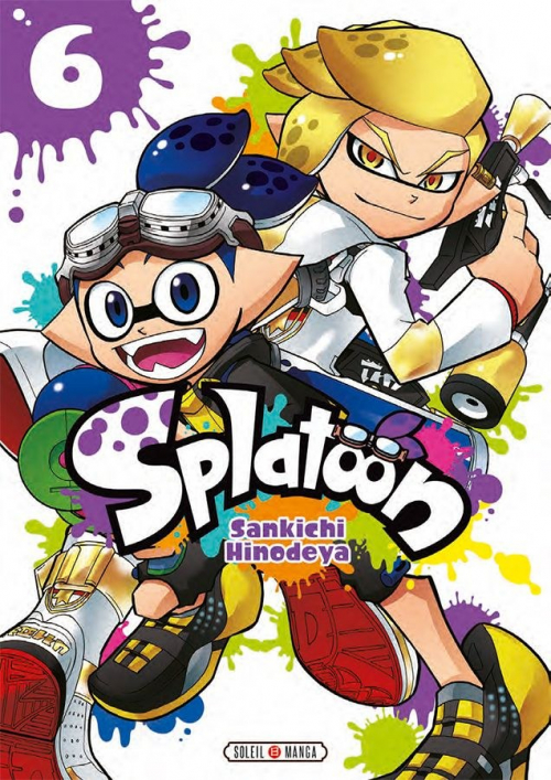 Couverture Splatoon, tome 6