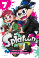 Couverture Splatoon, tome 7 Editions Soleil 2019