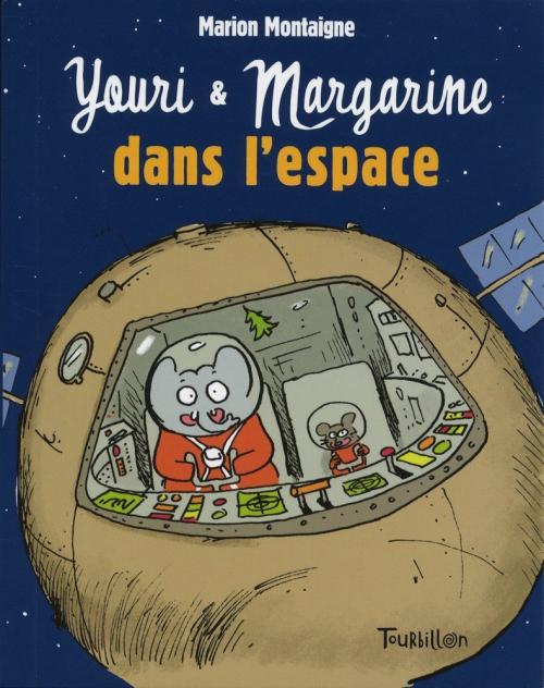 Couverture Youri et Margarine dans l'espace