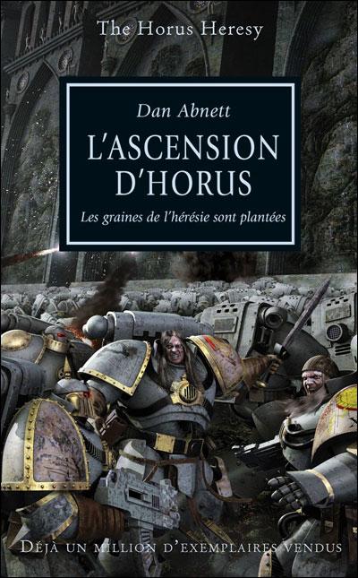 Couverture L'Hérésie d'Horus, tome 01 : L'ascension d'Horus
