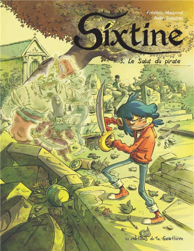 Couverture Sixtine (BD), tome 3 : Le salut du pirate
