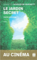 Couverture Le jardin secret Editions Archipoche 2020