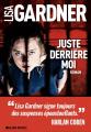 Couverture Juste derrière moi Editions Albin Michel 2020