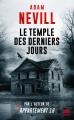 Couverture Le Temple des Derniers Jours Editions Bragelonne (L'Ombre) 2019