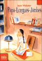 Couverture Papa-Longues-Jambes / Papa Faucheux Editions Folio  (Junior) 2007