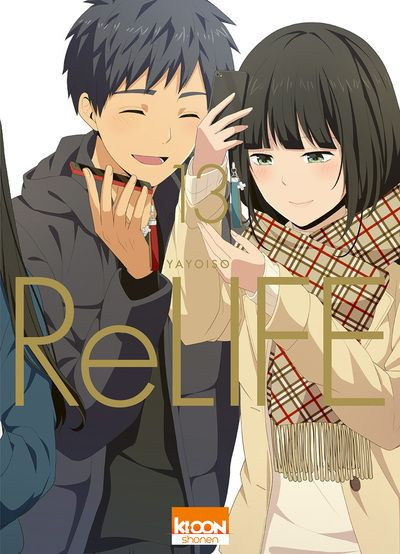 Couverture ReLIFE, tome 13