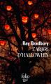 Couverture L'arbre d'Halloween Editions Folio  (SF) 2015