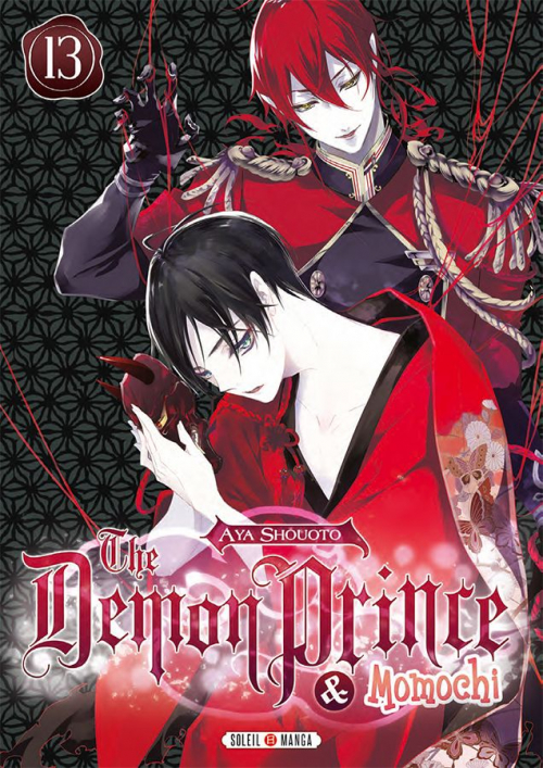 Couverture The demon prince & Momochi, tome 13