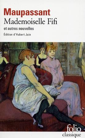 Couverture Mademoiselle Fifi et autres nouvelles
