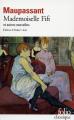 Couverture Mademoiselle Fifi et autres nouvelles Editions Gallimard  1977