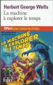 Couverture La Machine à explorer le temps Editions Folio  2019