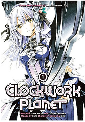 Couverture Clockwork Planet