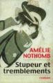 Couverture Stupeur et tremblements Editions France Loisirs 2000