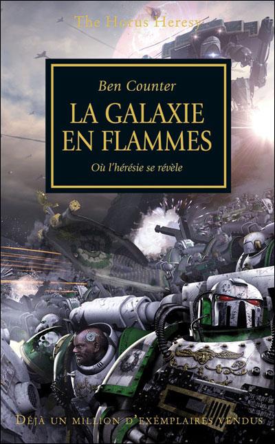 Couverture L'Hérésie d'Horus, tome 03 : La galaxie en flammes