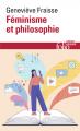 Couverture Féminisme et philosophie: Fabriquer le féminisme Editions Folio  (Essais) 2020
